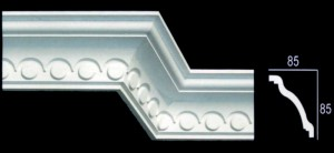 Optical Contemporary Cornice