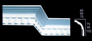 Large Contemporary Cornice