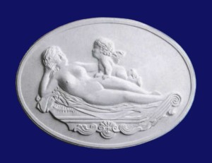 Reclining Woman Plaque