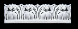 Date Leaf Frieze, Beading or Dado