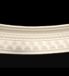 Tunnel Effect and Beaded Curved Cornice