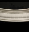 Small Dentil Curved Cornice